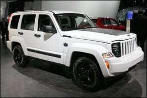 Jeep Liberty Artic edition at the 2012 North American International Auto Show.