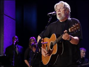 Bob Seger performs at the Country Music Hall of Fame Inductions on in Nashville, Tenn.