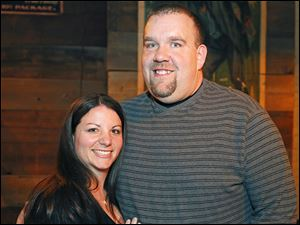 Keith and Elissa Rapp enjoy the Graham's Foundation Power to Grow fund-raiser.