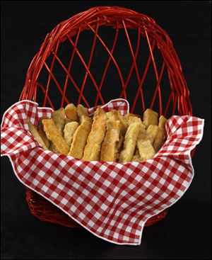 French bread sticks.