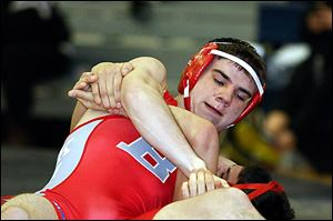 Bedford senior Mitch Pawlak has a 44-1 record at 125 pounds and is ranked No. 2 in the state in his weight division.