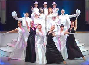Performers from 'Hooray for Hollywood' will be in town for one show at Stranahan Theater on Wednesday.