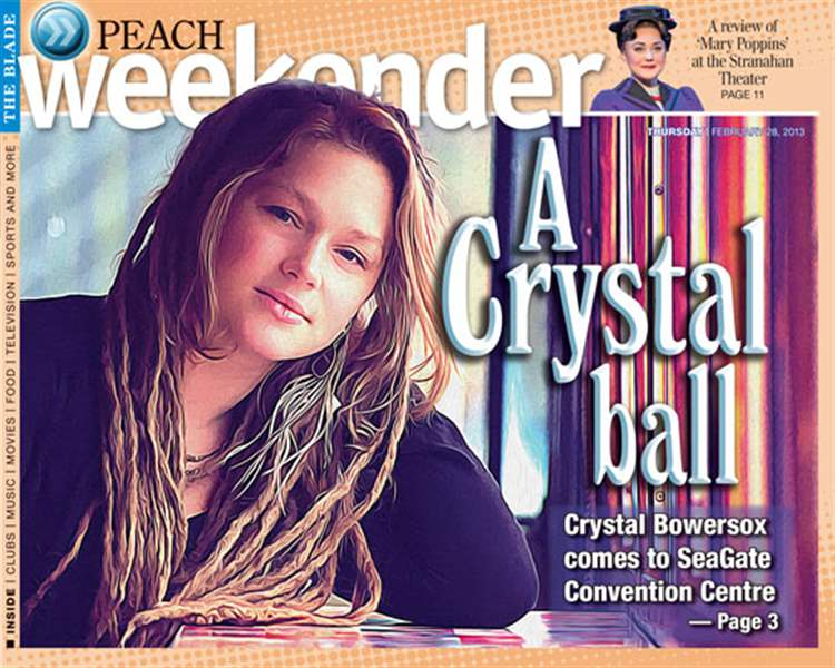 Crystal Bowersox excited about new material, will play it