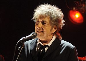 Bob Dylan will be playing on April 21, at the Stroh Center in Bowling Green, to raise money for the American Red Cross Northwest Ohio region.