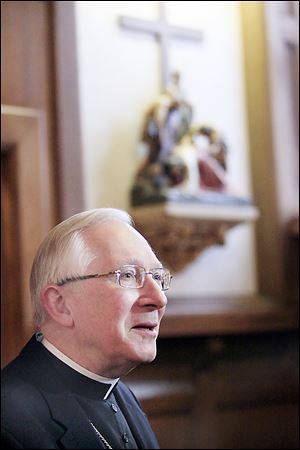 Bishop Leonard P. Blair predicts that Pope Benedict's legacy will be as a great teacher and that he will spend the rest of his life as a monk in a life of private prayer.