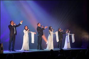 Celtic Nights will perform Sunday at the Valentine Theatre.