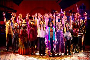 'Hair' will be performed at the Valentine Theatre Friday. The show is sold out.