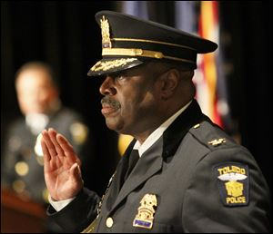 Chief Derrick Diggs will retire on March 21 and be rehired the next day in the same role by Toledo Mayor Mike Bell.