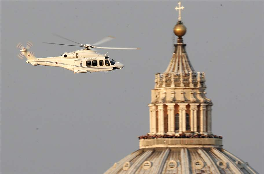 Vatican-Pope-helicopter
