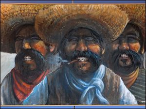 'Three Amigos,' a painting by Dave Wisniewski.
