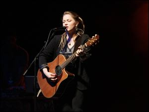 Crystal Bowersox performs new songs at the SeaGate.