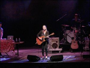 Crystal Bowersox has been test driving songs from her soon-to-be released second album,