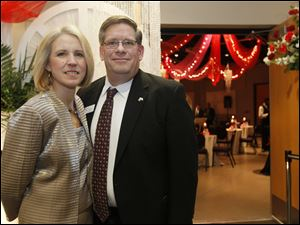 Regional CEO of the American Red Cross Tom Yenrick and his wife Linda.