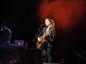 Crystal Bowersox performs in Toledo, ahead of a March 26 release date for a new CD that contains 12 songs.