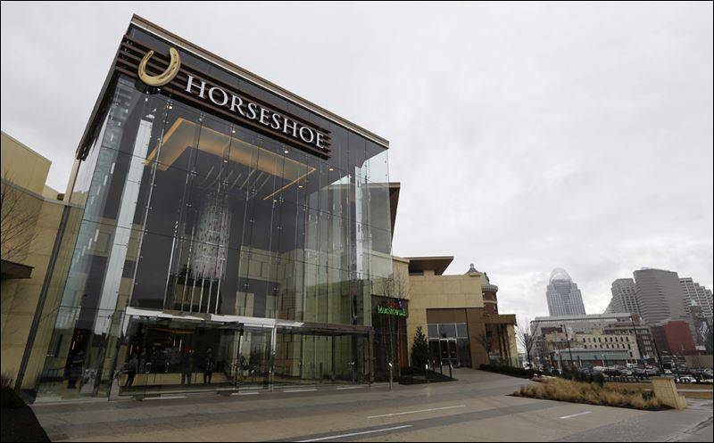 Horseshoe Casino Cincinnati is a 400,000-square-foot facility built on