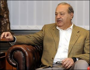 Mexican billionaire Carlos Slim is the world's richest man for the fourth year in a row according to Forbes.