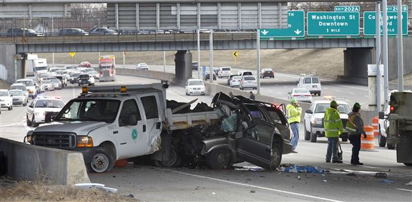 I-75 North reopens after SUV and ODOT truck collision - The Blade