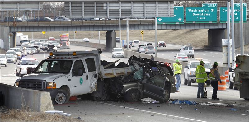 I 75 North Reopens After Suv And Odot Truck Collision
