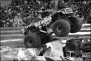 Monster Jam comes to Huntington Center Friday, Saturday, and Sunday.