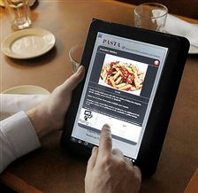 Digital-menu-tablet