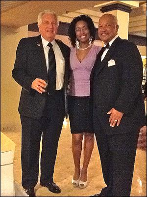 Ron Rothenbuhler, Karla Johnson, and Phil Boles