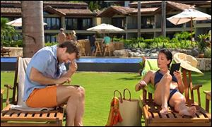 A Kindle Paperwhite television advertisement features a woman lounging next to a man — both waiting for their husbands, who are shown in the background at the pool bar. Mainstream ads, which used to lag behind TV and film content, have started marketing to the LGBT population.