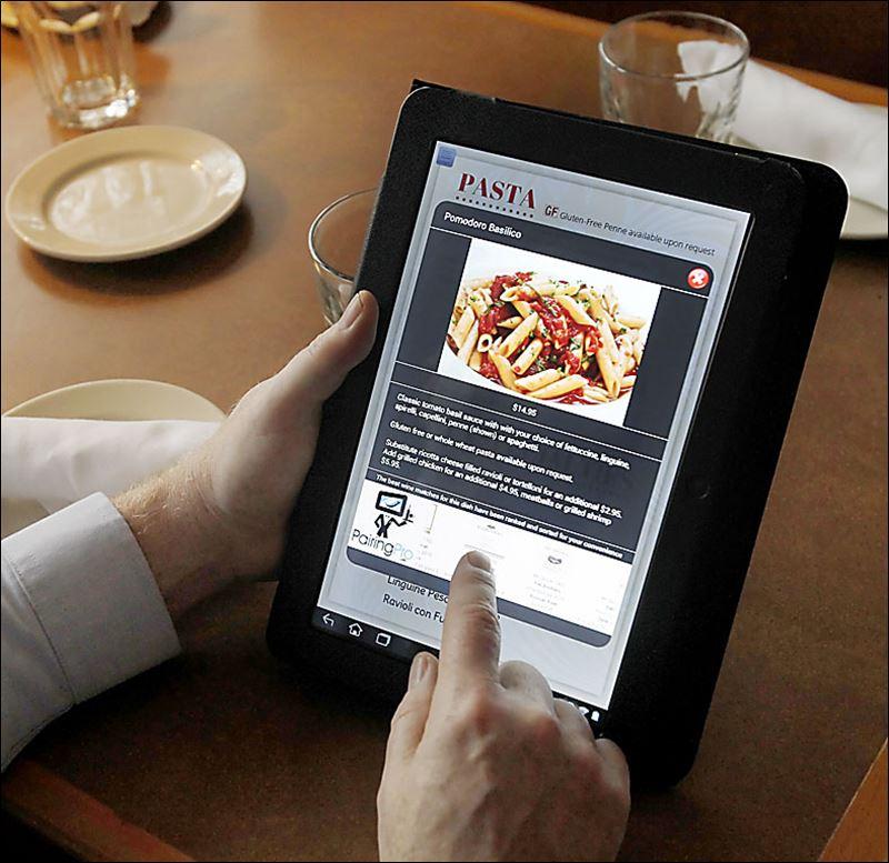 Restaurants Cook Up Cool With Digital Menus Toledo Blade