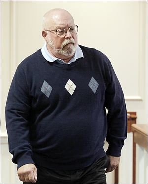 John Neal Tucker of Flint, Mich., on trial in Maumee Municipal Court for vehicular homicide and vehicular manslaughter, talked with a state trooper in a taped interview after the fatal crash on Aug. 4, 2011 that killed three people.