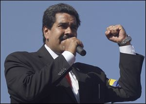 Late President Hugo Chavez designated Nicolas Maduro as his successor before he died Tuesday of cancer. Maduro had been Chavez's vice president.