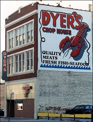 Dyer's Chop House was a favorite of business leaders and celebrities for decades.