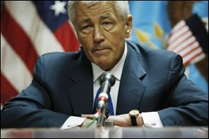U.S. Secretary of Defense Chuck Hagel said he will review decision to dismiss sexual assault charges against a military officer.