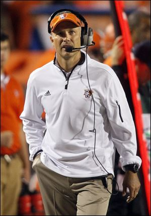 Bowling Green football coach Dave Clawson says the team needs to beat elite foes.