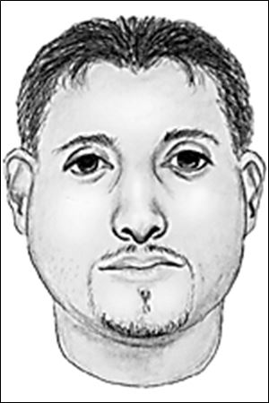 Police sketch of suspect
