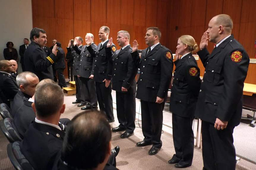Promotions-swearing-in