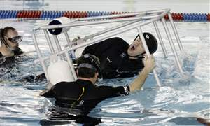 Training-in-water