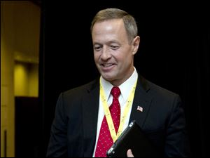 Maryland Gov. Martin O'Malley attends the National Governors Association 2013 Winter Meeting in Washington.