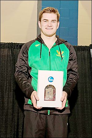 Dylan Szegedi took four years off from diving, but got back in the sport in the ninth grade.