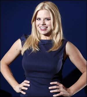 Megan Hilty performs March 8 during the New York Pops Gala Concert at Carnegie Hall in New York City.