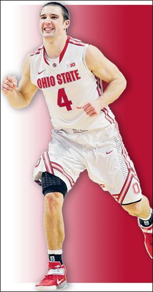 Ohio State's Aaron Craft has a 3.92 grade-point average and his spring courses are Organic Chemistry, Macronutrients, and Kinesiology.