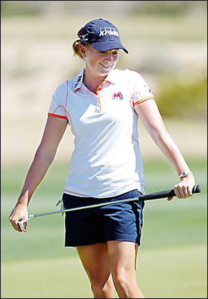 Stacy Lewis is the second American to be ranked No. 1 in the world standings.