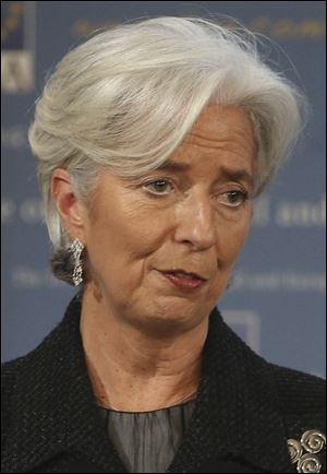 Managing Director of the IMF, Christine Lagarde