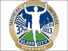 Medical Mutual Glass City Marathon Logo