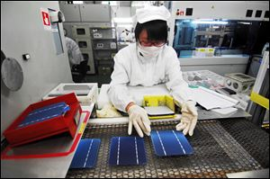 Suntech Power, the world's biggest solar panel manufacturer was forced into bankruptcy court Wednesday.