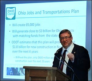 Rick Hodges, executive director of the Ohio Turnpike, says plans call for widening 4.7 miles of the toll road in the Toledo area starting this spring.