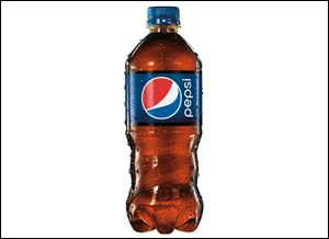 Pepsi's new 20-ounce bottle has a contoured bottom half that appears easier to hold.