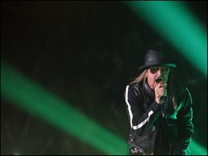 Kid Rock performs at the Huntington Center, Friday, March 22, 2013.