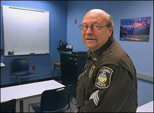 Sylvania Township police Sgt. Clarence Whalen, in the roll-call room on King Road, says all departments are involved in the citizens academy, which began in 2000. Instructors will explain all facets of police work, and those who graduate could become part of the Citizens Patrol Group.