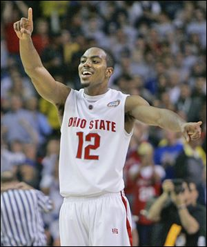 In a 2007 NCAA game, Ron Lewis hit a 3-point shot against Xavier to send the game to overtime. The Buckeyes won 78-71.