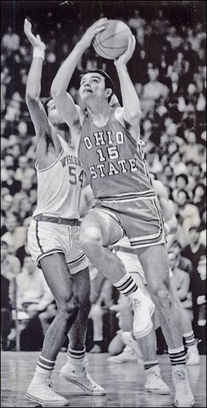Ohio State's Dave Sorenson, a Findlay graduate, hit a game-winning shot against Kentucky in a 1968 NCAA tournament game to send the Buckeyes to the Elite Eight.
