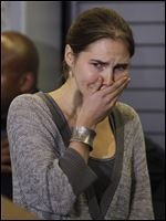 Amanda Knox, shown here in 2011 after returning home from Italy, learned today that Italy's highest criminal court has overturned her acquittal i